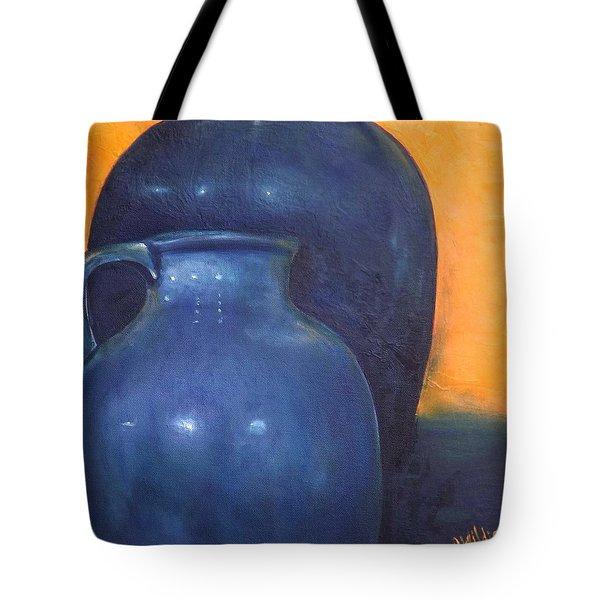 Two Ceramic Pots Tote Bag