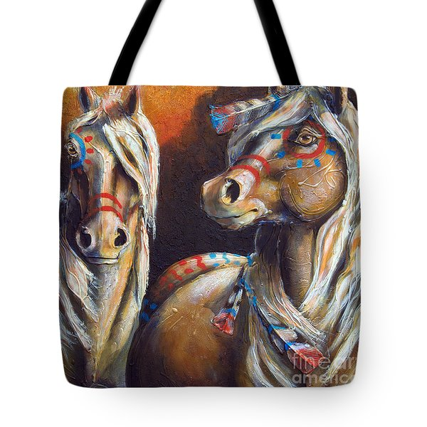 Two Coins Tote Bag