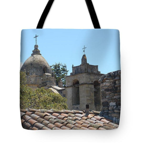 Two Crosses  Tote Bag