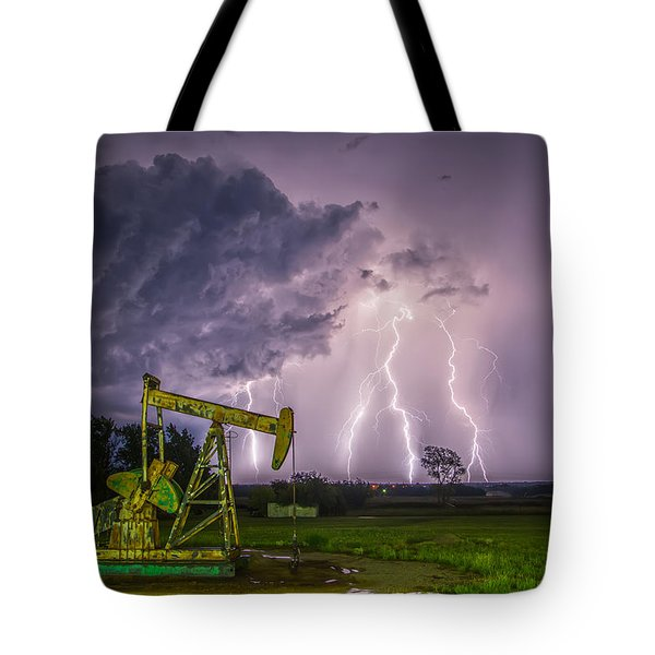 Two Ellements  Tote Bag by James Menzies