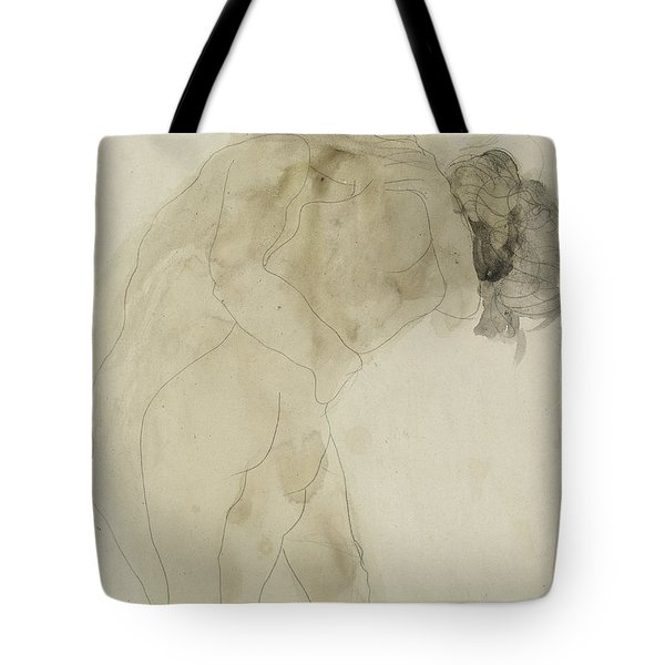 Two Embracing Figures Tote Bag