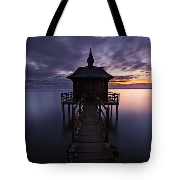 Two Faces Tote Bag by Dominique Dubied