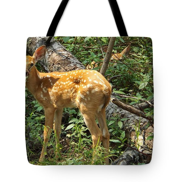 Two Fawn Tote Bag
