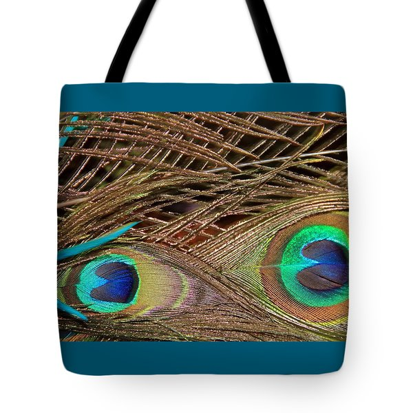 Two Feathers Tote Bag