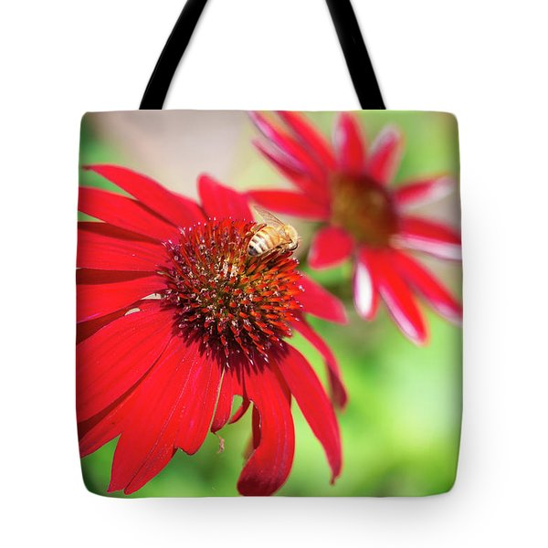 Tote Bag featuring the photograph Two Flowers For Every Bee by Brian Hale
