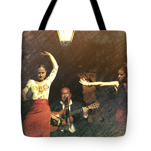 Two For Flamenco Tote Bag