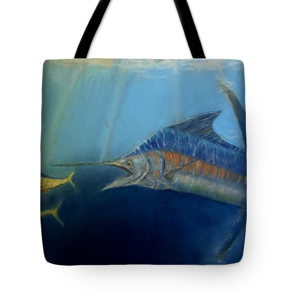 Two For Lunch Tote Bag by Ceci Watson