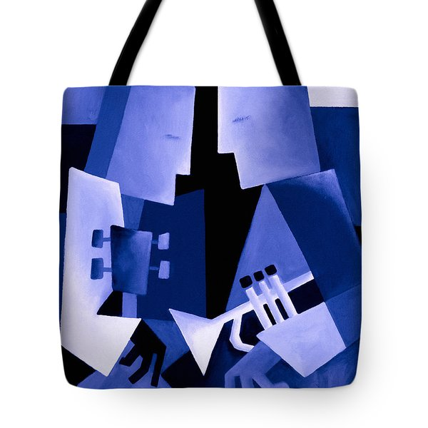Two For The Blues Tote Bag