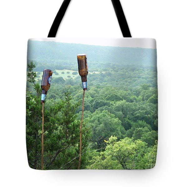 Tote Bag featuring the photograph Two For The Road by Joe Jake Pratt