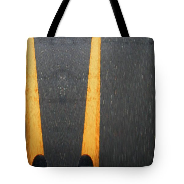Two For The Road Tote Bag by Karol Livote