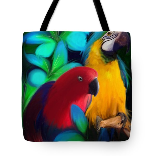 Two Friends  Tote Bag