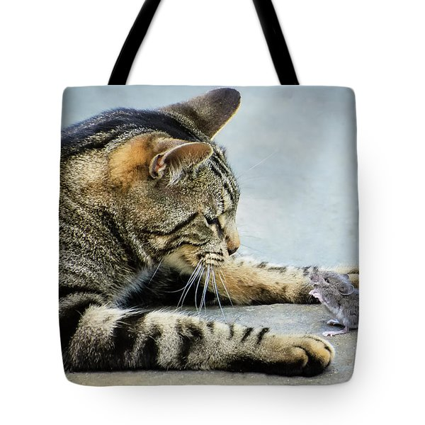 Two Friends Tote Bag by Mike Ste Marie