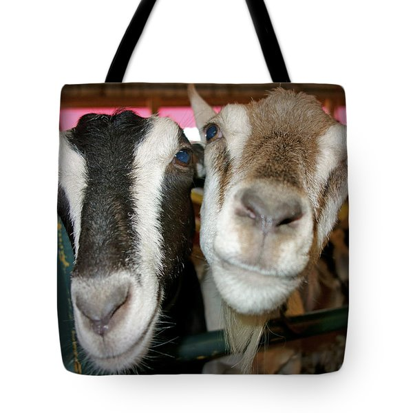 Two Goats Tote Bag