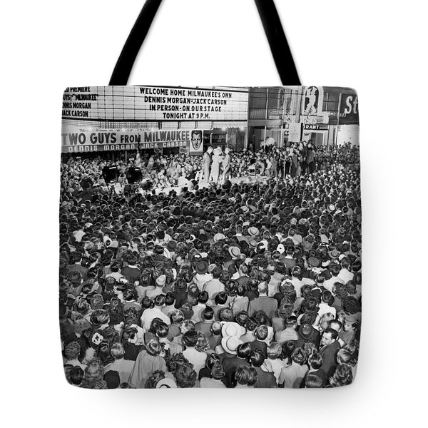 two Guys From Milwaukee Tote Bag