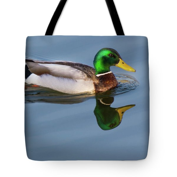 Two Headed Duck Tote Bag