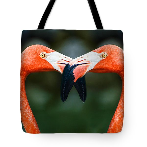 Tote Bag featuring the photograph Two Heads Are Better Than One by Judy Wolinsky