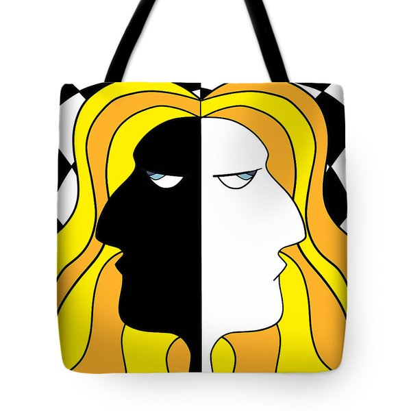 Two Heads Two Souls Tote Bag