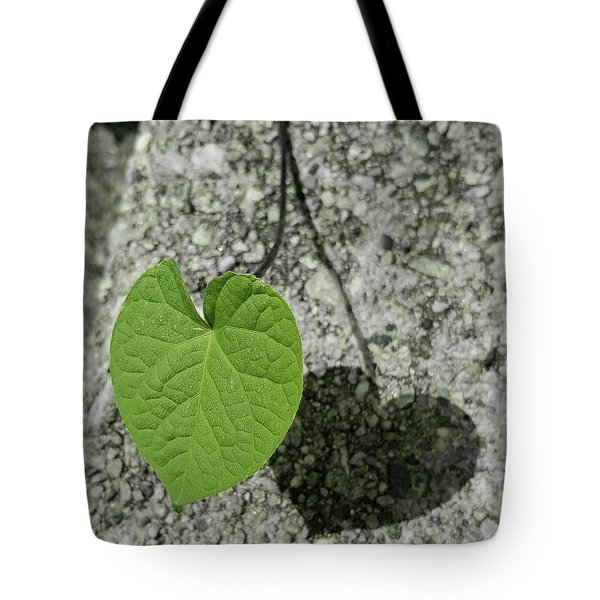 Two Hearts Entwined Tote Bag by Bruce Carpenter