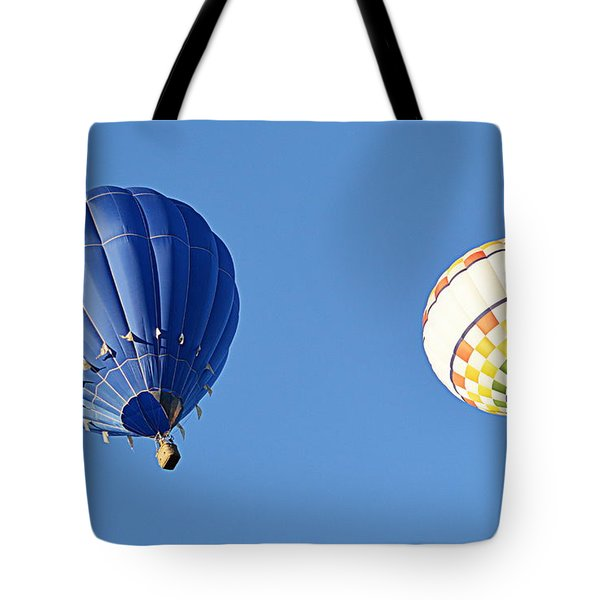 Two High In The Sky Tote Bag