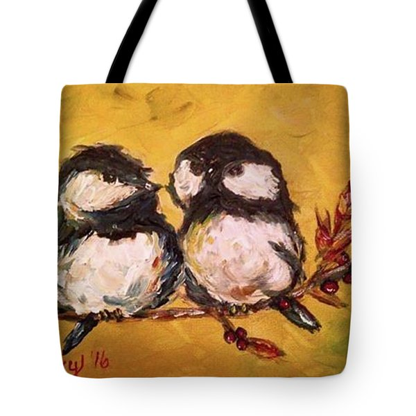 Two Hot Chicks Tote Bag