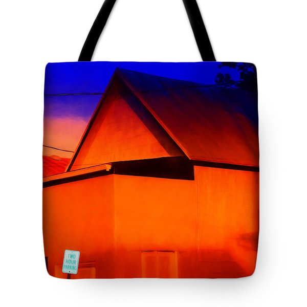 Two Hour Parking Tote Bag