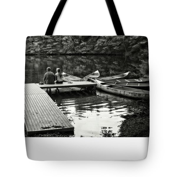 Two In A Boat Tote Bag by Alex Galkin