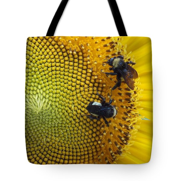 Tote Bag featuring the photograph Two Is Company by Virginia Coyle