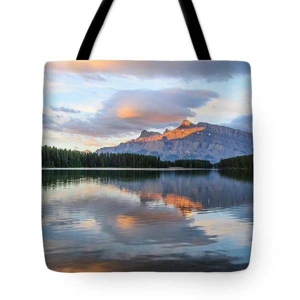 Two Jack Lake, Banff National Park Tote Bag