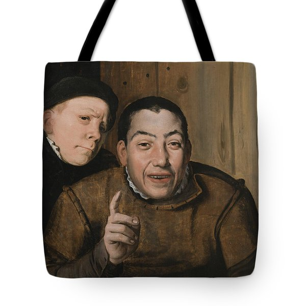 Two Jesters Tote Bag