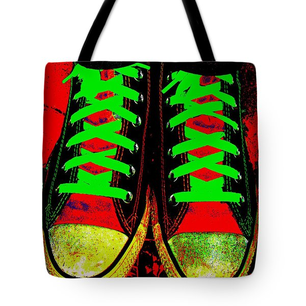 Two Left Feet Tote Bag by Ed Smith