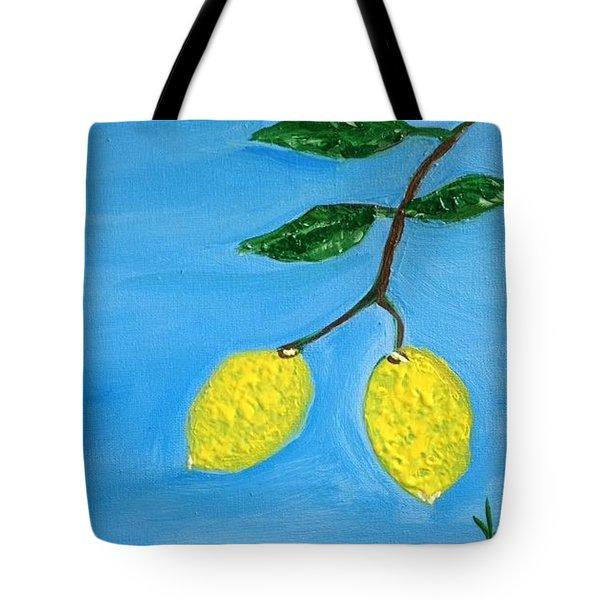 Two Lemons For Karen Tote Bag