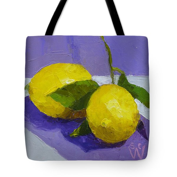 Two Lemons Tote Bag