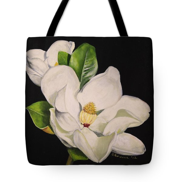 Two Magnolias Tote Bag