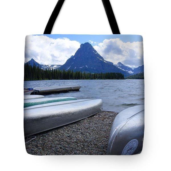 Two Medicine Lake Tote Bag by Idaho Scenic Images Linda Lantzy