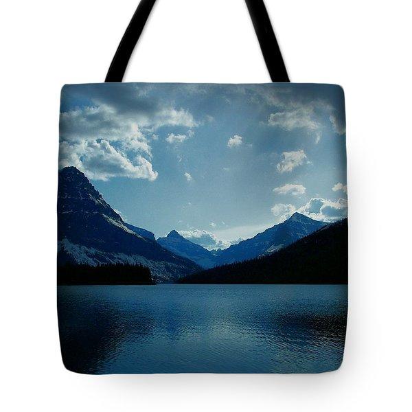 Two Medicine Lake Tote Bag