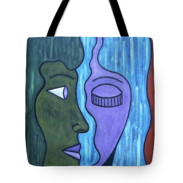 Two Minds Tote Bag by Patrick J Murphy