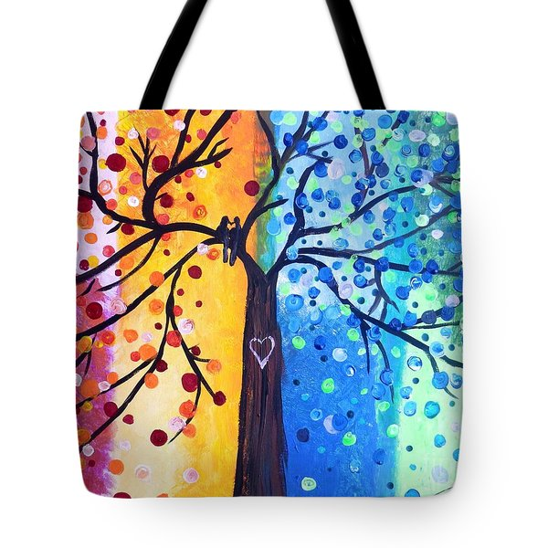 Two Moments Tote Bag