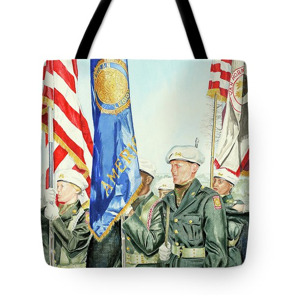 Two Months After 9-11  Veteran's Day 2001 Tote Bag