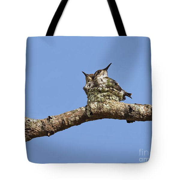 Two Of A Kind... Tote Bag by Nina Stavlund