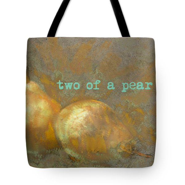 Two Of A Pear Tote Bag
