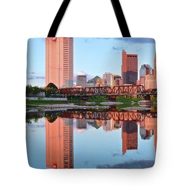 Tote Bag featuring the photograph Two Of Everything by Frozen in Time Fine Art Photography