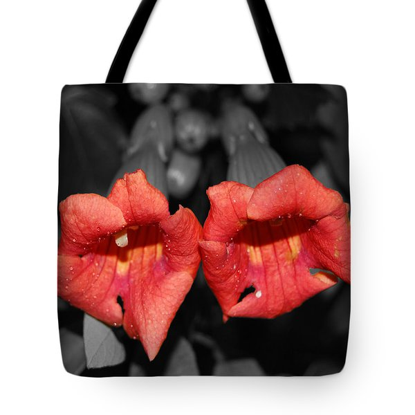 Tote Bag featuring the photograph Two Of Hearts by Maggy Marsh