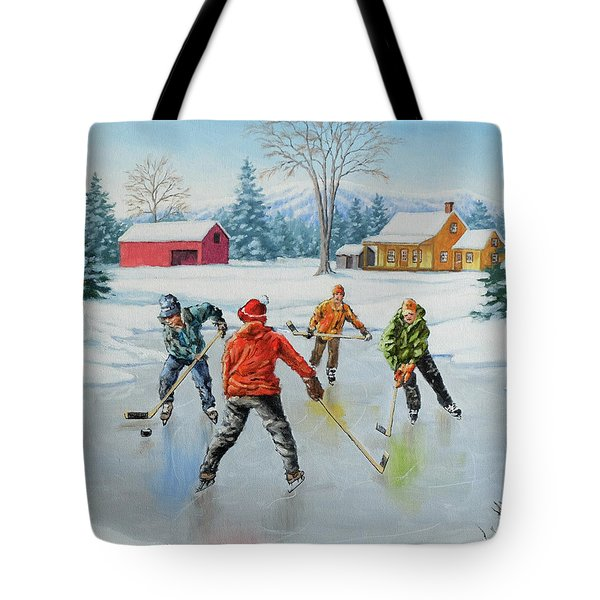 Two On One Tote Bag