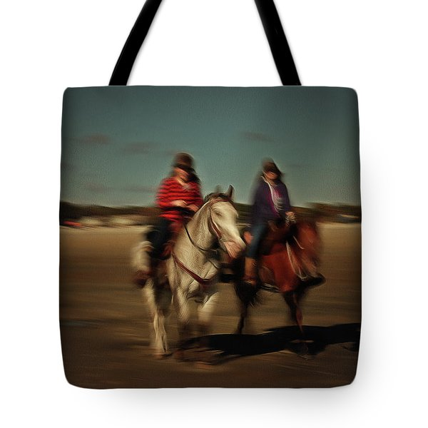 Two On The Road Tote Bag