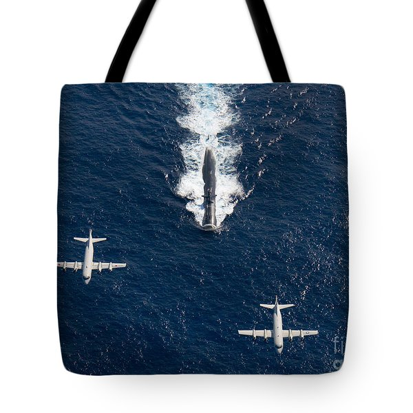 Two P-3 Orion Maritime Surveillance Tote Bag