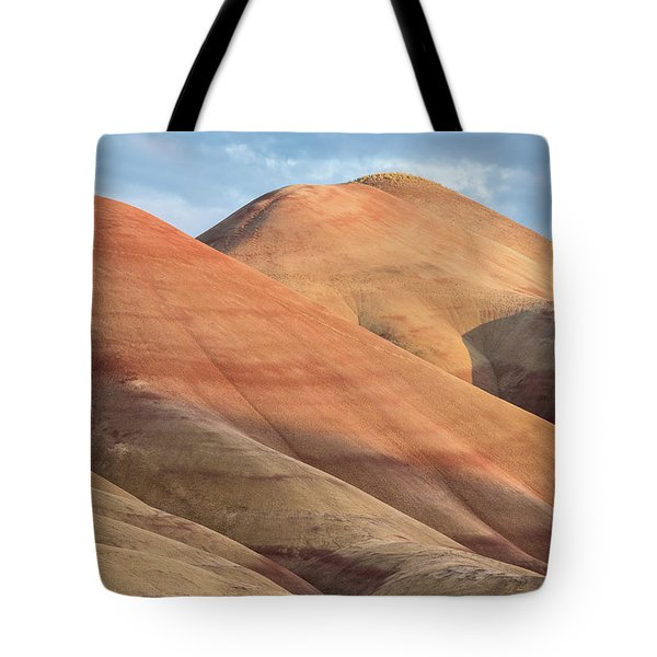 Tote Bag featuring the photograph Two Painted Hills by Greg Nyquist