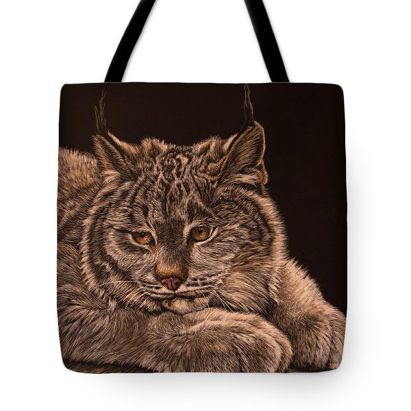Two Paws Down Tote Bag