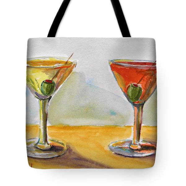 Two Perfect Martinis Tote Bag