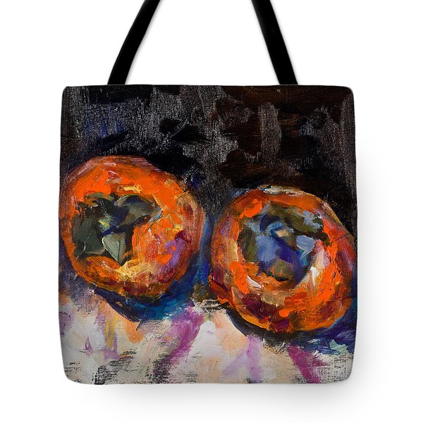 Two Persimmons Tote Bag