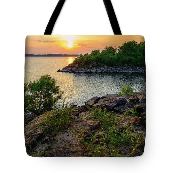 Two Rivers Trail Tote Bag